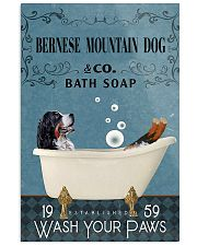 Bath Soap Company Bernese Mountain Dog 11x17 Poster front