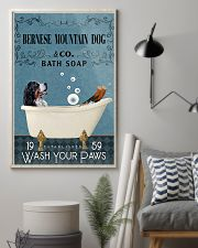 Bath Soap Company Bernese Mountain Dog 11x17 Poster lifestyle-poster-1