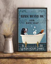 Bath Soap Company Bernese Mountain Dog 11x17 Poster lifestyle-poster-3