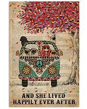 Dictionary And She Lived Happily Pug 11x17 Poster front