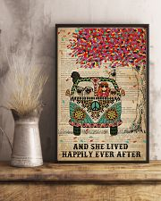 Dictionary And She Lived Happily Pug 11x17 Poster lifestyle-poster-3