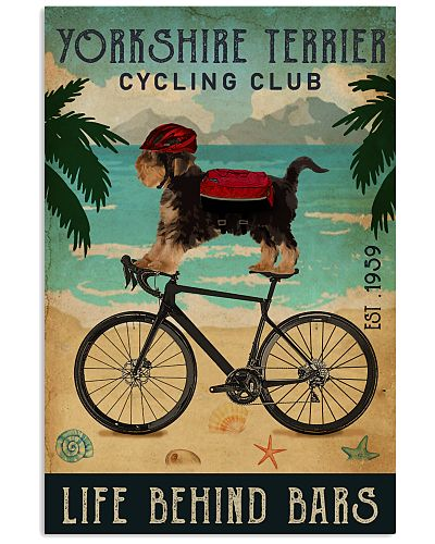 Cycling Club Yorkshire Terrier