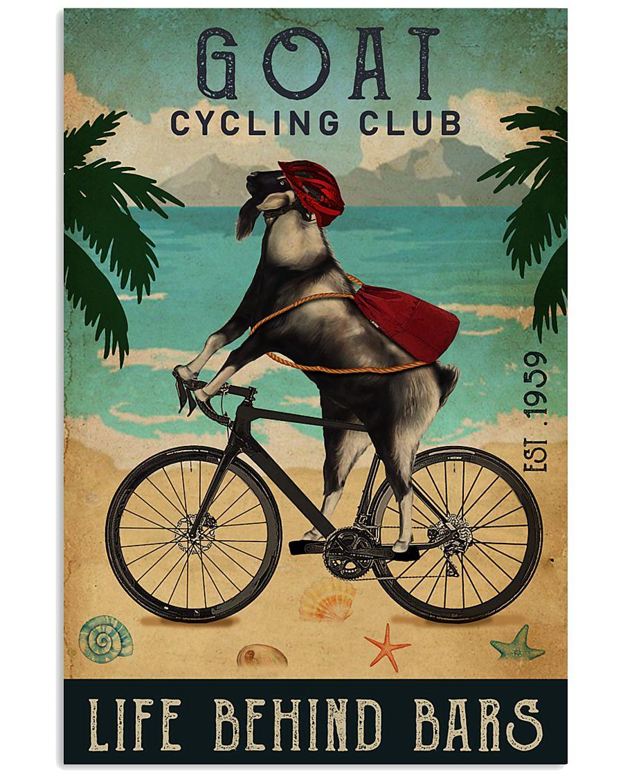 Cycling Club Goat 11x17 Poster