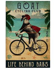 Cycling Club Goat 11x17 Poster front