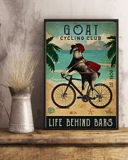 Cycling Club Goat 11x17 Poster lifestyle-poster-3