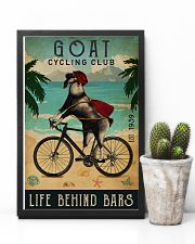 Cycling Club Goat 11x17 Poster lifestyle-poster-8
