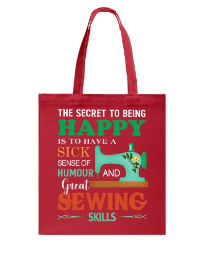 The Secret To Being Happy Sewing