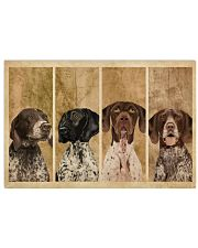 Vintage Four German Shorthaired Pointer 24x16 Poster front