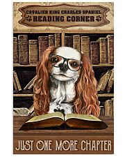 Reading Corner Book Cavalier King Charles Spaniel 11x17 Poster front