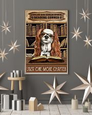 Reading Corner Book Cavalier King Charles Spaniel 11x17 Poster lifestyle-holiday-poster-1