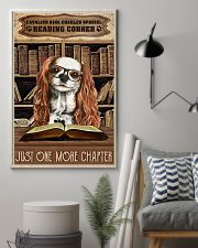Reading Corner Book Cavalier King Charles Spaniel 11x17 Poster lifestyle-poster-1