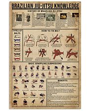 Brazilian Jiu-Jitsu Knowledge 16x24 Poster front