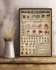 Brazilian Jiu-Jitsu Knowledge 16x24 Poster lifestyle-poster-3