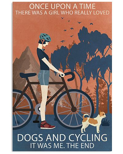 Vintage Once Upon A Time Chihuahua And Cycling