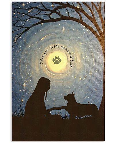 Love You To The Moon Hand Shake Corgi
