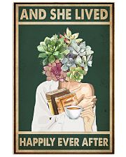 She Lived Happily Books Tea Garden 11x17 Poster front