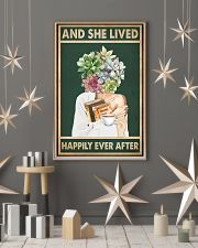 She Lived Happily Books Tea Garden 11x17 Poster lifestyle-holiday-poster-1