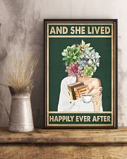 She Lived Happily Books Tea Garden 11x17 Poster lifestyle-poster-3