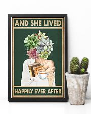 She Lived Happily Books Tea Garden 11x17 Poster lifestyle-poster-8