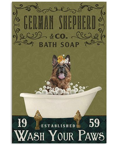 Olive Bath Soap Company German Shepherd