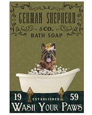 Olive Bath Soap Company German Shepherd 11x17 Poster front