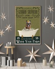 Olive Bath Soap Company German Shepherd 11x17 Poster lifestyle-holiday-poster-1