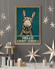 Hello Sweet Cheeks Donkey 16x24 Poster lifestyle-holiday-poster-1