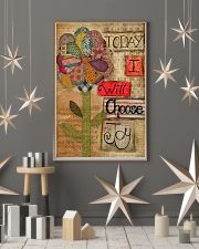 Today I Will Choose Joy Flower Sewing 16x24 Poster lifestyle-holiday-poster-1