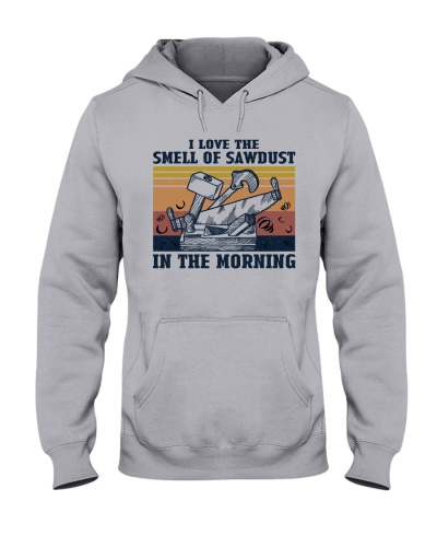 The Smell Of Sawdust Carpenter Retro Navy