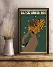 Black Queen Bee Afro Retro Green 16x24 Poster lifestyle-poster-3