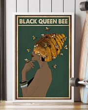 Black Queen Bee Afro Retro Green 16x24 Poster lifestyle-poster-4