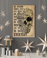 Be Strong When You Are Week Skull Kraft Paper 11x17 Poster lifestyle-holiday-poster-1