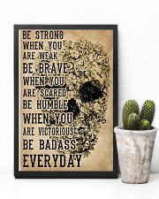 Be Strong When You Are Week Skull Kraft Paper 11x17 Poster lifestyle-poster-8