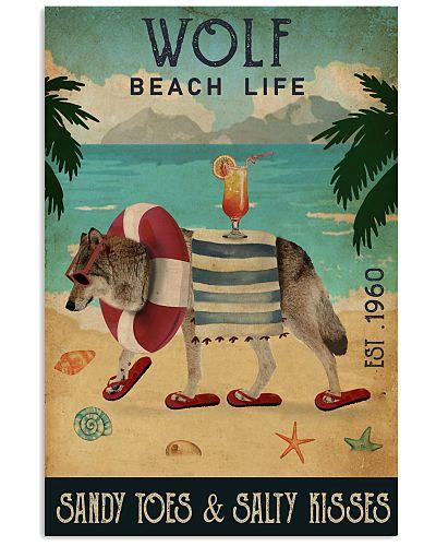 Vintage Beach Cocktail Life Wolf