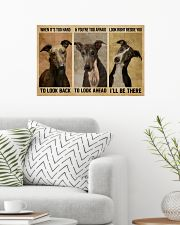 Greyhound When It's Too Hard 24x16 Poster poster-landscape-24x16-lifestyle-01