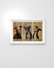Greyhound When It's Too Hard 24x16 Poster poster-landscape-24x16-lifestyle-02