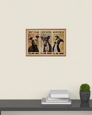 Greyhound When It's Too Hard 24x16 Poster poster-landscape-24x16-lifestyle-09
