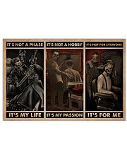 It's Not A Phase Skull Barber 24x16 Poster front