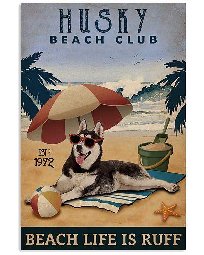 Vintage Beach Club Is Ruff Husky