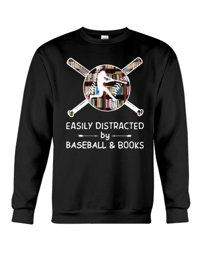 Easily Distracted By Baseball And Books