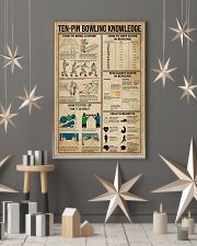 Ten-pin Bowling Knowledge 11x17 Poster lifestyle-holiday-poster-1