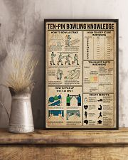 Ten-pin Bowling Knowledge 11x17 Poster lifestyle-poster-3