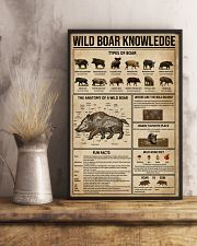 Wild Boar Knowledge 16x24 Poster lifestyle-poster-3