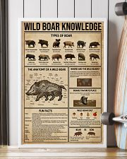 Wild Boar Knowledge 16x24 Poster lifestyle-poster-4