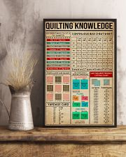 Cheat Sheets Quilting 11x17 Poster lifestyle-poster-3