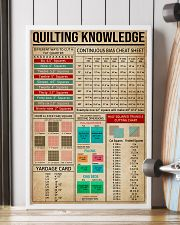 Cheat Sheets Quilting 16x24 Poster lifestyle-poster-4