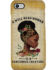 Dangerous Creature Black Girl Phone Case i-phone-7-case