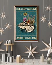 Skull Find What You Love 11x17 Poster lifestyle-holiday-poster-1