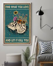 Skull Find What You Love 11x17 Poster lifestyle-poster-1