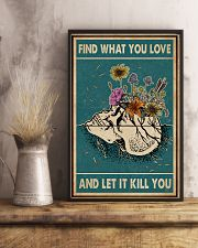 Skull Find What You Love 11x17 Poster lifestyle-poster-3